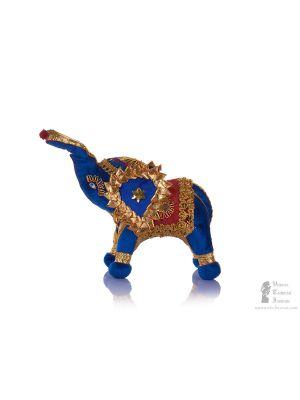 Handmade Whitewood Painted Ganesh