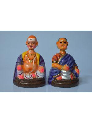 Handmade kashmiri Papermache  storage Box